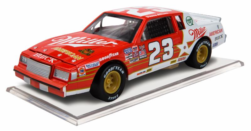 "1985 Davey Allison 1/64th Miller American ""ARCA Series"" Pitstop Series car"