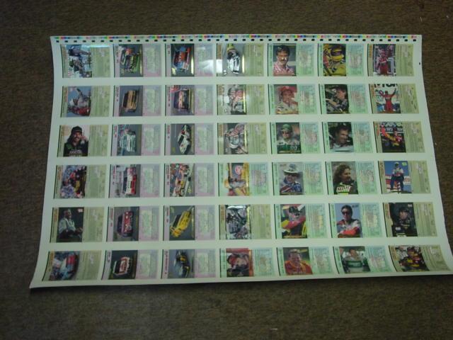 1992-93 Action Packed Hi-Pro Uncut Card Set