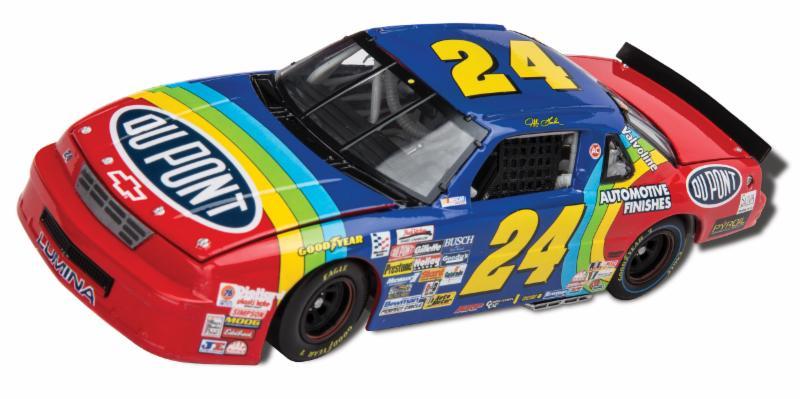 "1993 Jeff Gordon #24 Dupont ""Daytona Gatorade 125 Duel Win"" car"