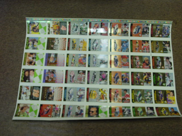 1994 Action Packed Special Collectors Edition Uncut Card Set