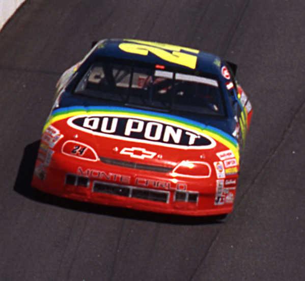 "1995 Jeff Gordon 1/24th Dupont ""1st Darlington Win"" car"