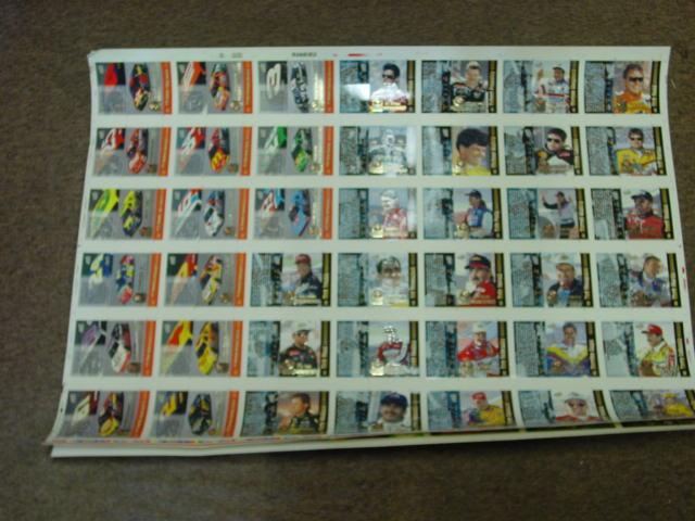 1995 Pinnacle Uncut Card Set