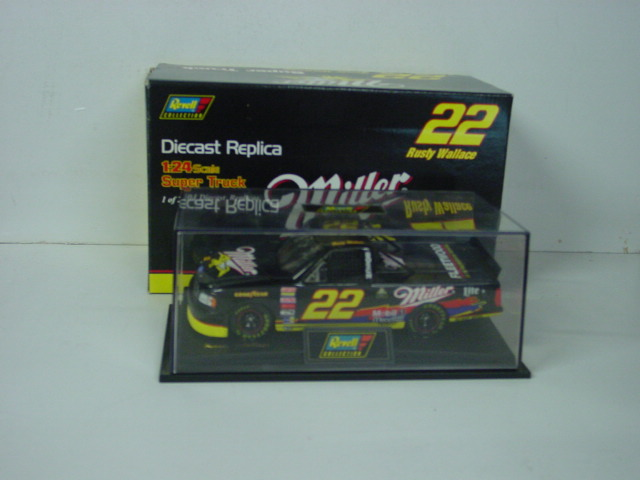 1996 Rusty Wallace 1/24th Miller Super Truck