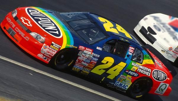 "1997 Jeff Gordon 1/24th Dupont ""Coca Cola 600 Win"" car"