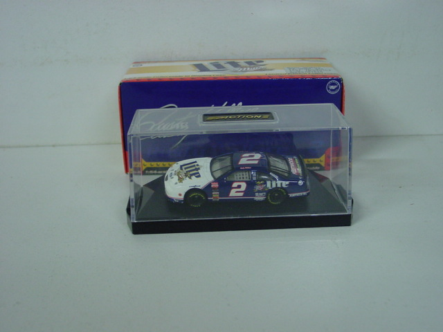1997 Rusty Wallace 1/64th Miller Lite car