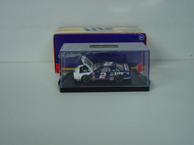 1997 Rusty Wallace 1/64th Miller Lite RCCA hood open car