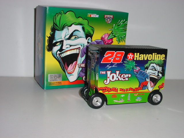 1998 Kenny Irwin 1/16 Joker pit wagon bank