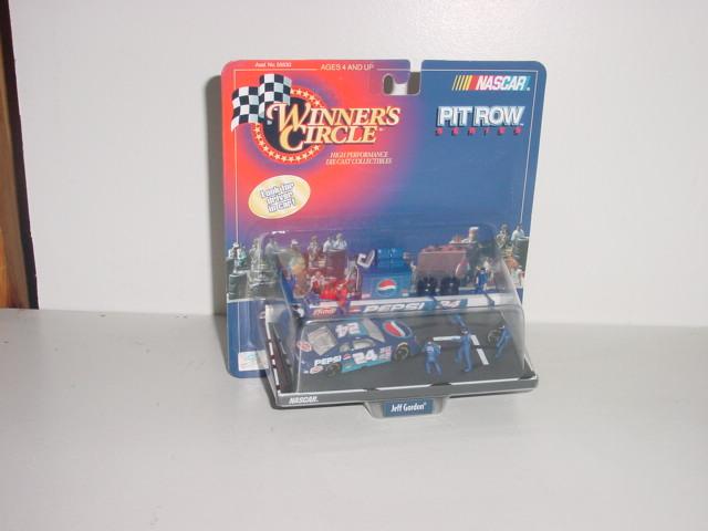 1998 Jeff Gordon 1/64th Pepsi Pit Row