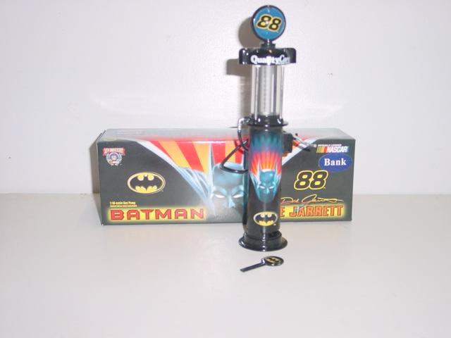 1998 Dale Jarrett 1/16th Quality Care/Batman Gas Pump Bank