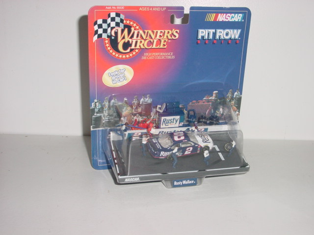 """1998 Rusty Wallace 1/64th """"Rusty"""" Pit Row"""