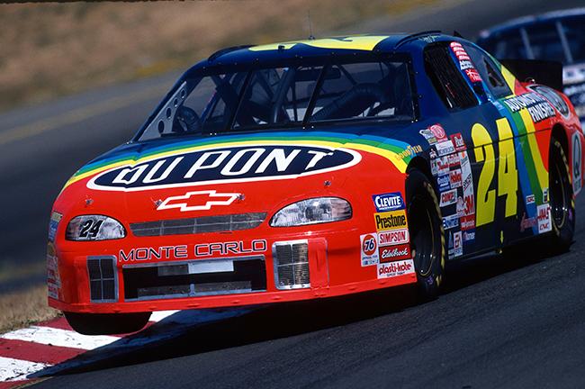 "1999 Jeff Gordon 1/24th Dupont ""Sonoma Win"" car"