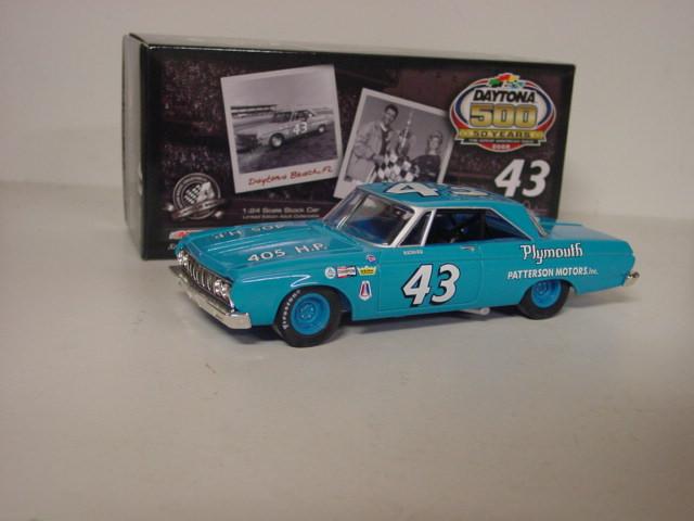 """1964 Richard Petty 1/24th Patterson Motors """"Daytona 500 Win"""" car"""