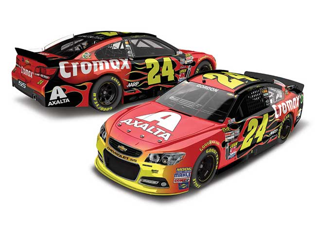 2013 Jeff Gordon 1/24th Axalta/Cromax Cape car