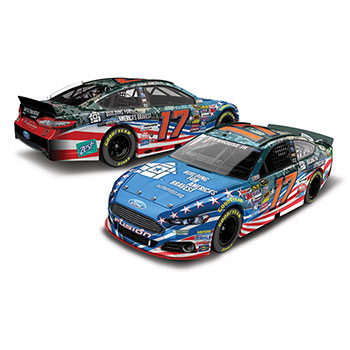 2014 Ricky Stenhouse Jr 1/64th America's Bravest Pitstop Series car