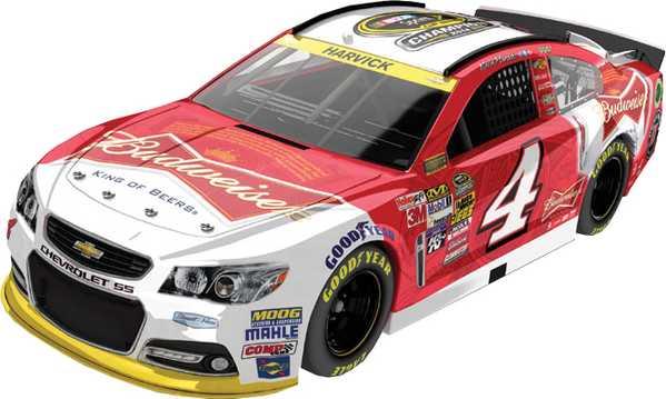 "2014 Kevin Harvick 1/24th Budweiser ""Sprint Cup Champion"" car"