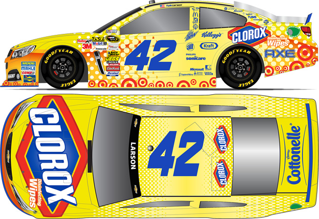 2014 Kyle Larson 1/24th Clorox car
