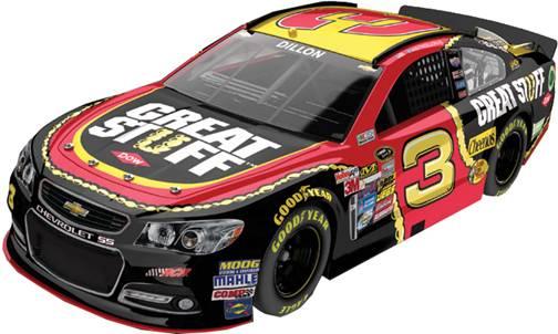 "2014 Austin Dillon 1/24th DOW ""Great Stuff"" car"