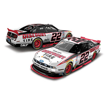 """2014 Ryan Blaney 1/64th Discount Tire """"Nationwide Series"""" Pitstop Series car"""