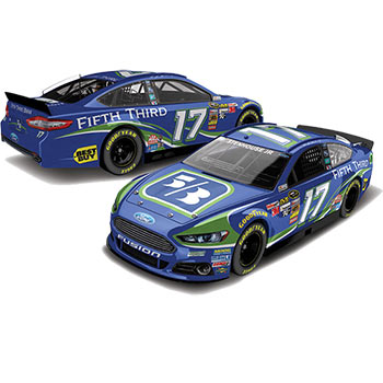 2014 Ricky Stenhouse Jr 1/64th Fifth Third Bank Pitstop Series car