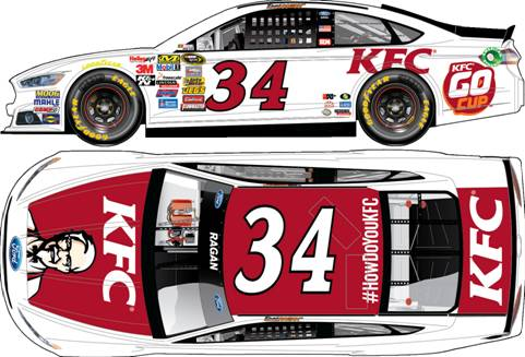 2014 David Ragan 1/64th KFC Pitstop Series car