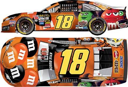 2014 kyle busch 164th mms halloween pitstop series car - Kyle Busch Halloween Car
