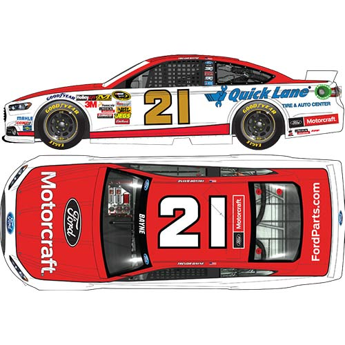 2014 Trevor Bayne 1/64th Motorcraft Pitstop Series car