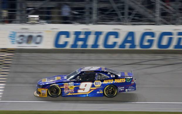 "2014 Chase Elliott 1/24th NAPA ""Chicago Win"" ""Nationwide Series"" car"