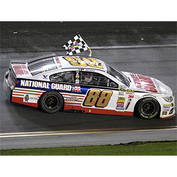 "2014 Dale Earnhardt Jr 1/24th National Guard ""Daytona 500 Win"" car"