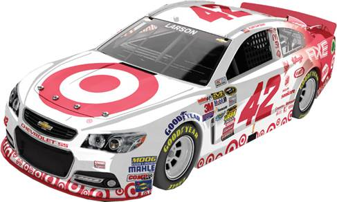 "2014 Kyle Larson 1/24th Target ""Night"" car"