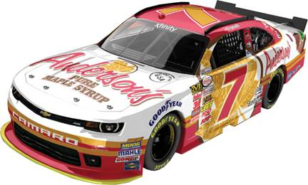 """2015 Regan Smith 1/64th Anderson's Maple Syrup """"Xfinity Series"""" Pitstop Series car"""
