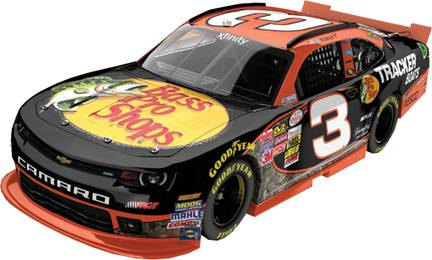 "2015 Ty Dillon 1/64th Bass Pro Shops ""XFINITY Series"" Pitstop Series car"