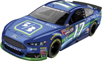 2015 Ricky Stenhouse Jr 1/64th Fifth Third Bank Pitstop Series car