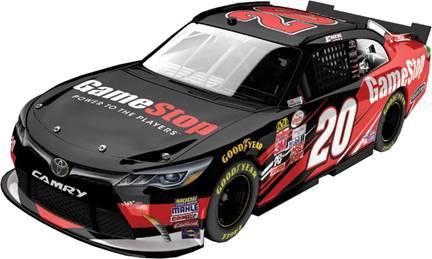 "2015 Erik Jones 1/64th GameStop ""Xfinity Series"" Pitstop Series car"