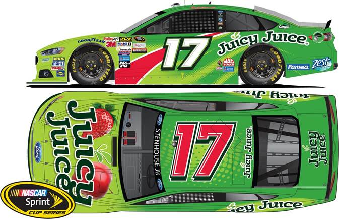 2015 Ricky Stenhouse Jr 1/64th Juicy Juice  Pitstop Series car