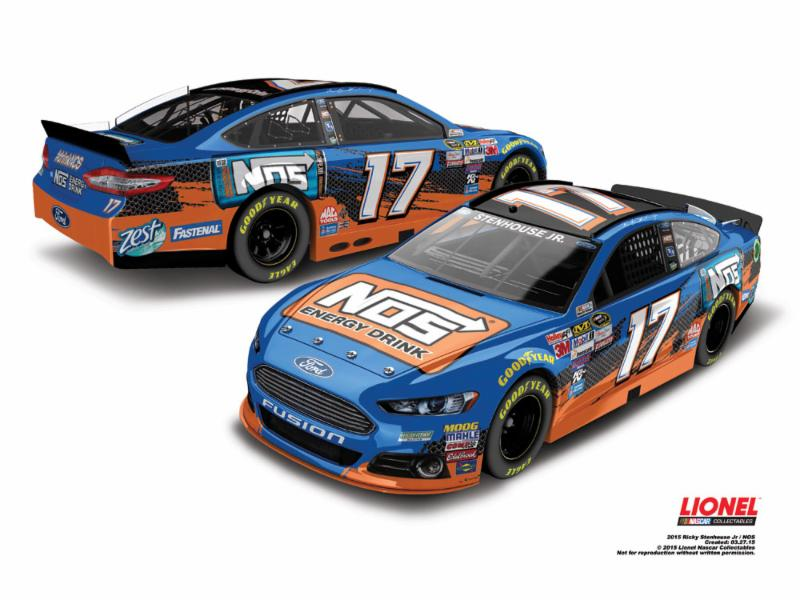 2015 Ricky Stenhouse Jr 1/64th NOS Pitstop Series car