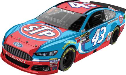 2015 Aric Almirola 1/64th STP Pitstop Series car