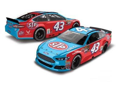 "2015 Aric Almirola 1/64th STP ""Darlington Throwback"" Pitstop Series car"