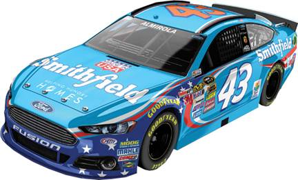 2015 Aric Almirola 1/24th Smithfield car