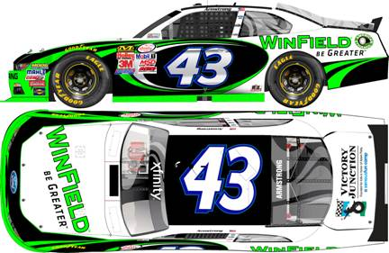 "2015 Dakota Armstrong 1/64th Winfield ""Xfinity Series"" Pitstop Series car"