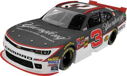 "2015 Ty Dillon 1/24th Yuengling ""Xfinity Series"" car"