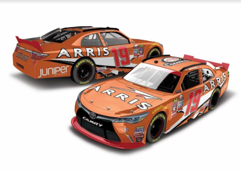 "2016 Daniel Suarez 1/24th ARRIS ""Xfinity Champion"" Gold Series car"