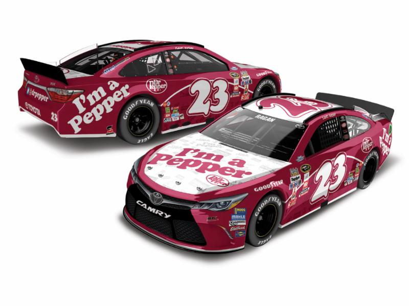 "2016 David Ragan 1/64th Dr Pepper ""Darlington Throwback"" Pitstop Series car"