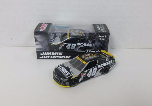 "2016 Jimmie Johnson 1/64th Kobalt ""7-Time Champion"" Pitstop Series car"