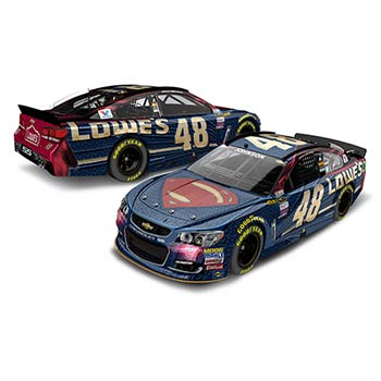 "2016 Jimmie Johnson 1/64th Lowe's ""Superman"" Pitstop Series car"