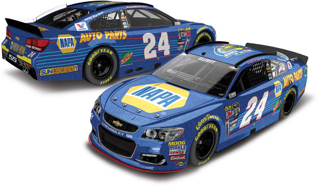"""2016 Chase Elliott 1/64th NAPA """"Rookie of the Year"""" Pitstop Series car"""