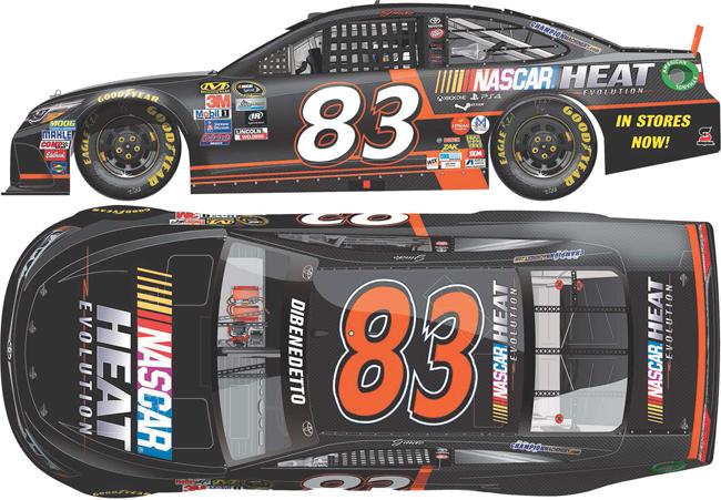 2016 Matt DiBenedetto 1/64th NASCAR Heat Pitstop Series car