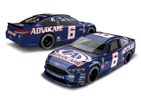 "2017 Trevor Bayne 1/64th AdvoCare ""Darlington Throwback"" Pitstop Series car"