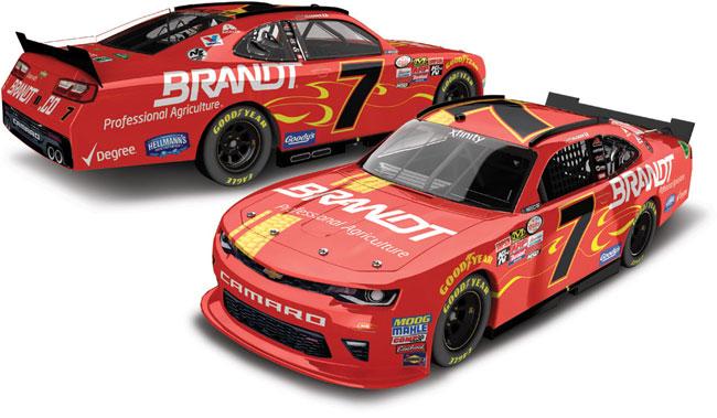 "2017 Justin Allgaier 1/64th Brandt ""Xfinity Series"" Pitstop Series car"