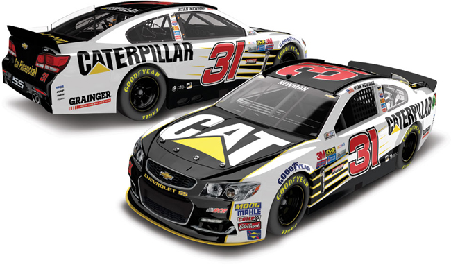 2017 Ryan Newman 1/64th Caterpillar Pitstop Series car