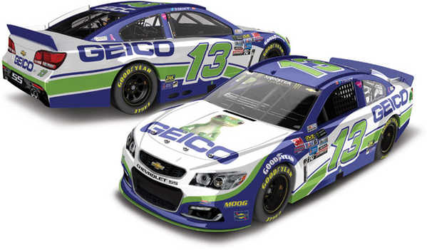 2017 Ty Dillon 1/64th GEICO Pitstop Series car